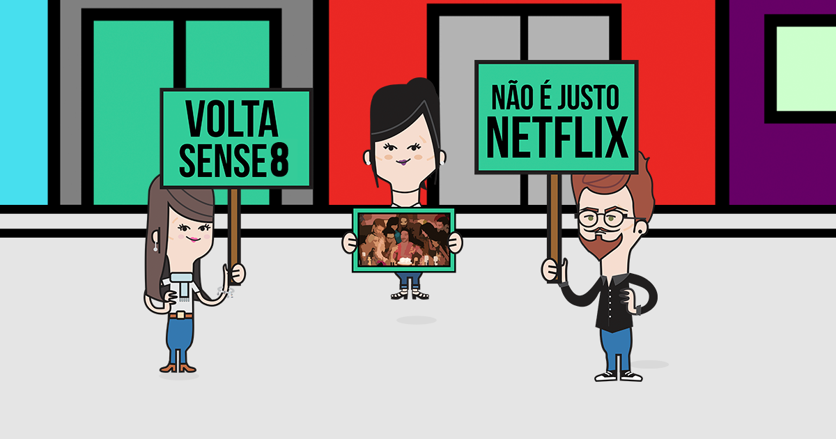 7 motivos para a Netflix trazer o nosso Sense8 de volta!