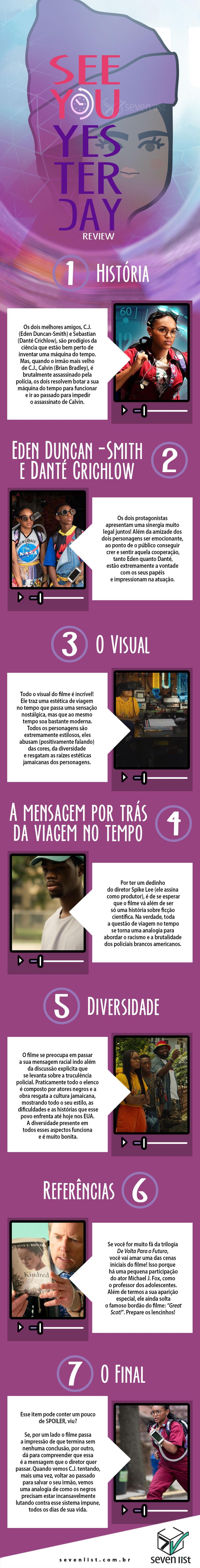A GENTE SE VÊ ONTEM - CRÍTICA - NETFLIX - SEVEN LIST