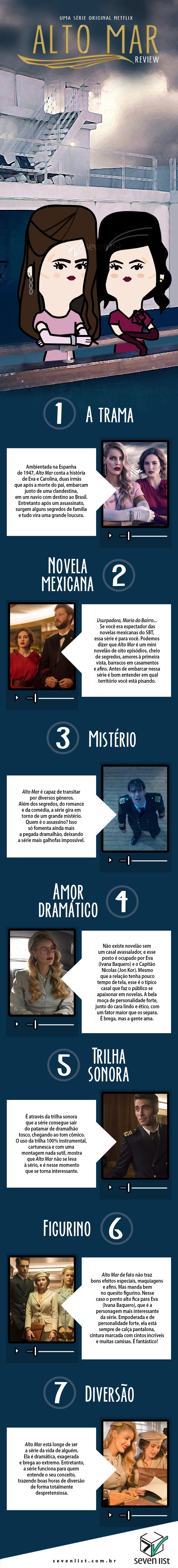 ALTO MAR - CRÍTICA - NETFLIX - SEVEN LIST