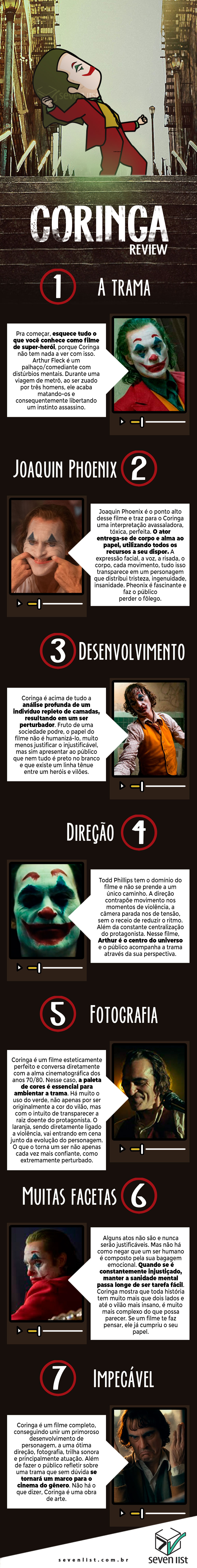 seven list crítica do filme Coringa Joker