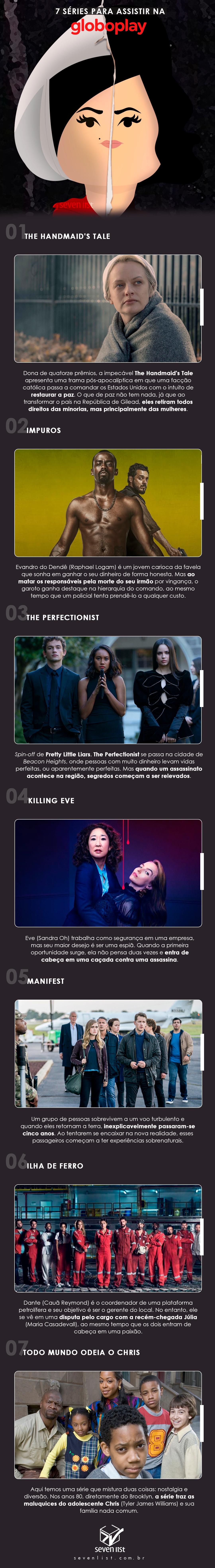 Dicas de séries para assistir na Globoplay - Seven List