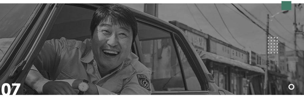 Seven List - Dicas de filmes coreanos - O Motorista de Táxi
