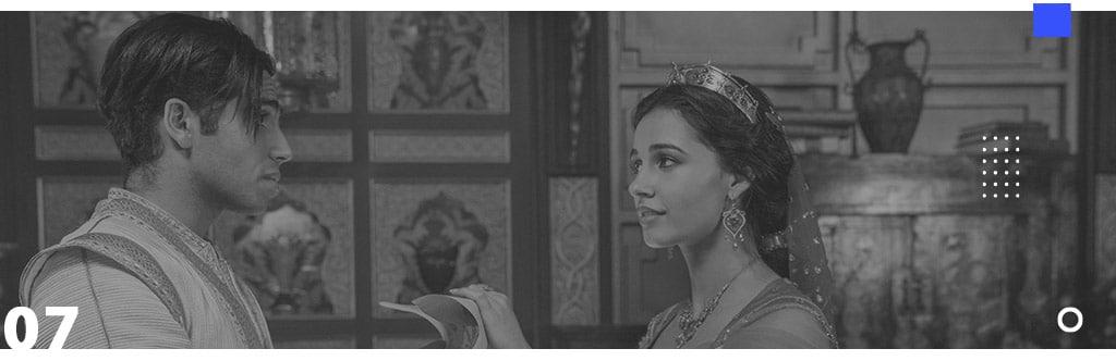 Seven List - Dicas de filmes para insônia no prime video - Aladdin