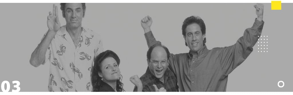 Seven List - Seinfeld - Dica Prime Video