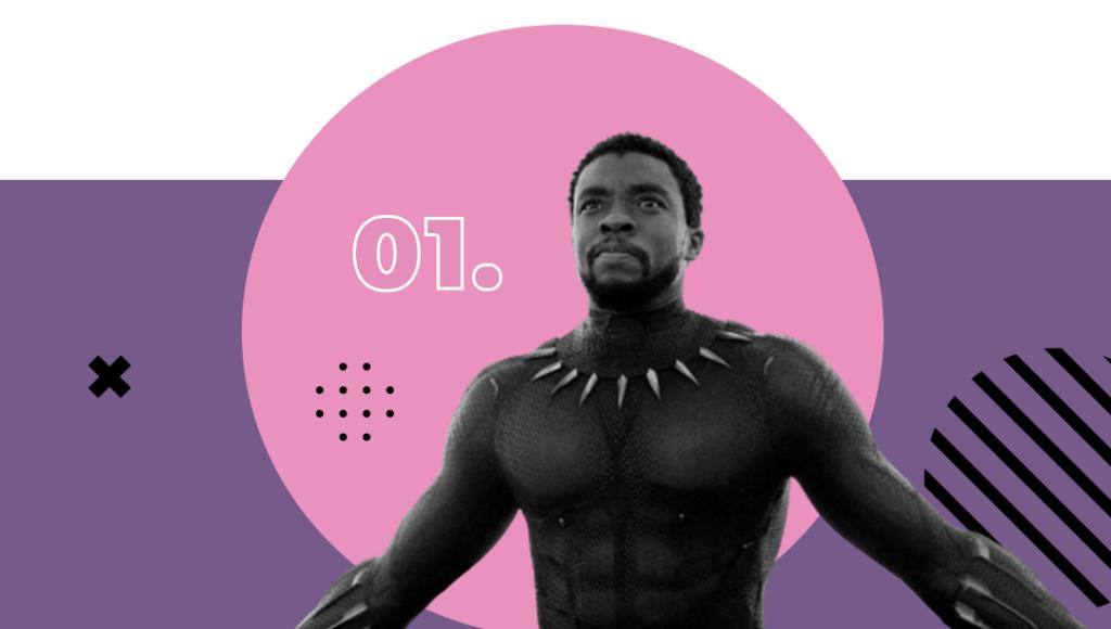 Seven List - Filmes com Chadwick Boseman - Pantera Negra