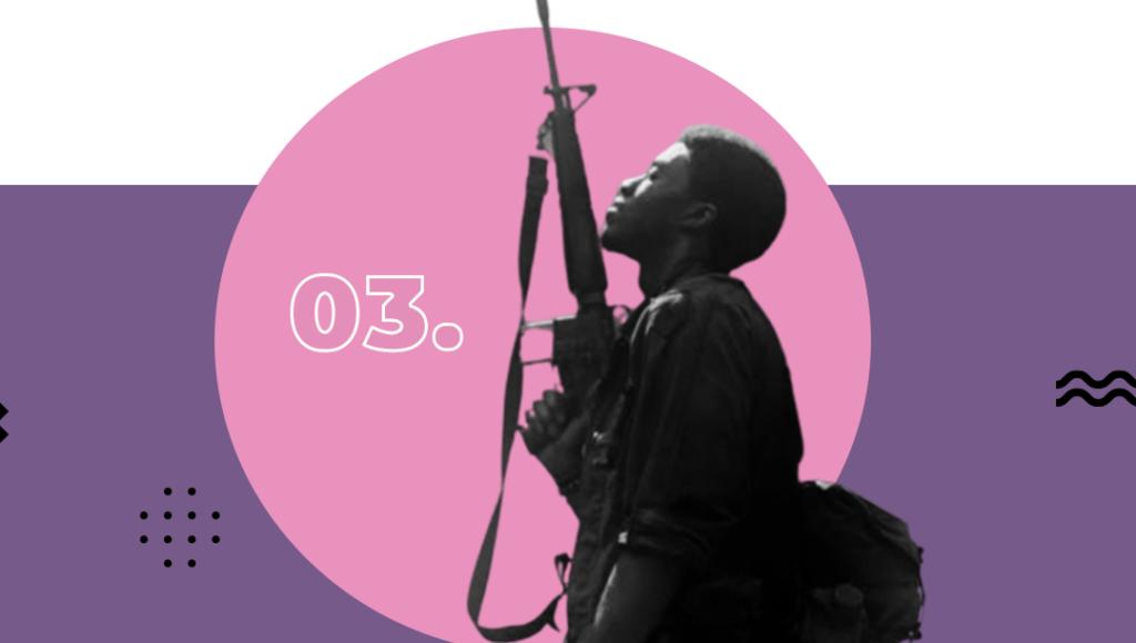 Seven List - Filmes com Chadwick Boseman - Destacamento Blood
