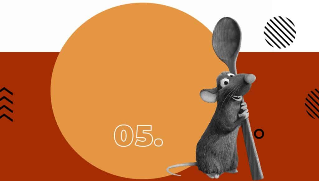 Lista de filmes de se passam em Paris - Seven List - Ratatouille